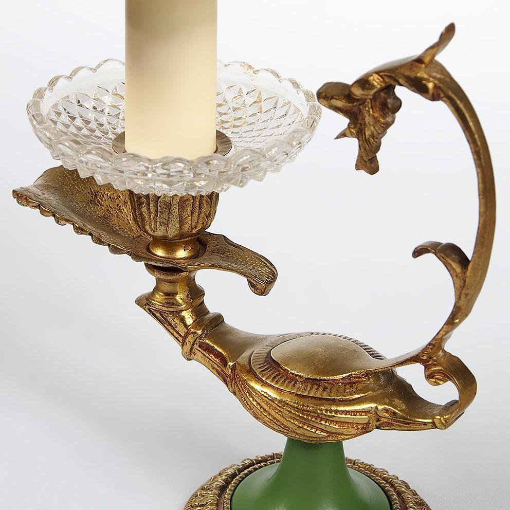 ancienne lampe bronze vintage table lamp style empire ebay. Black Bedroom Furniture Sets. Home Design Ideas