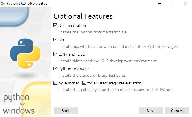 Part-1]Python 3 6/3 7 and pip installation under Windows