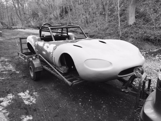 Rob's Ginetta G20 Basket Case - Roadster Builders