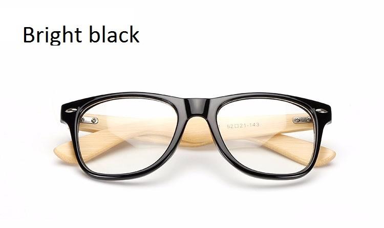 57f2d53cc Ralferty* Armação De Óculos Masculino Bamboo Madeira 1501