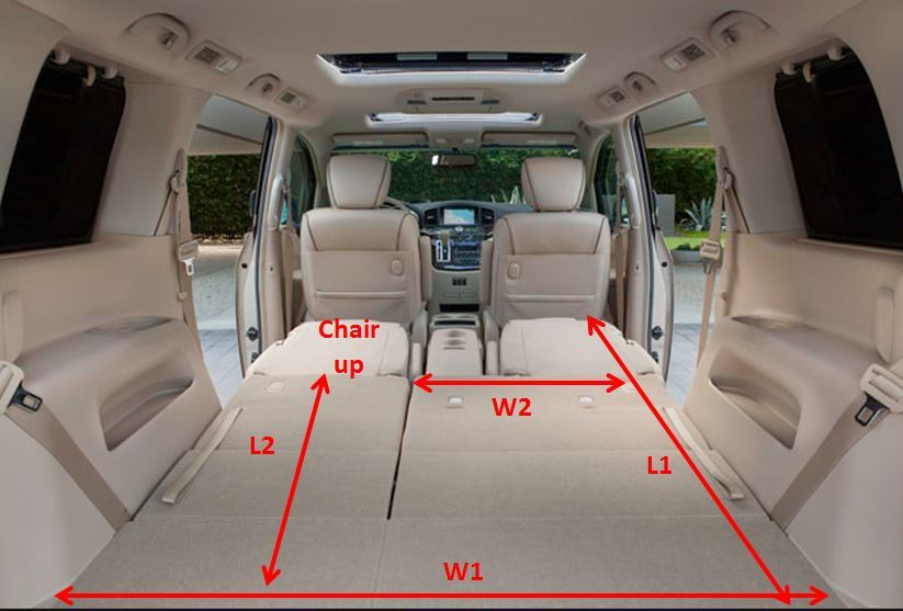 Nissan Quest Interior Dimensions Awesome Home