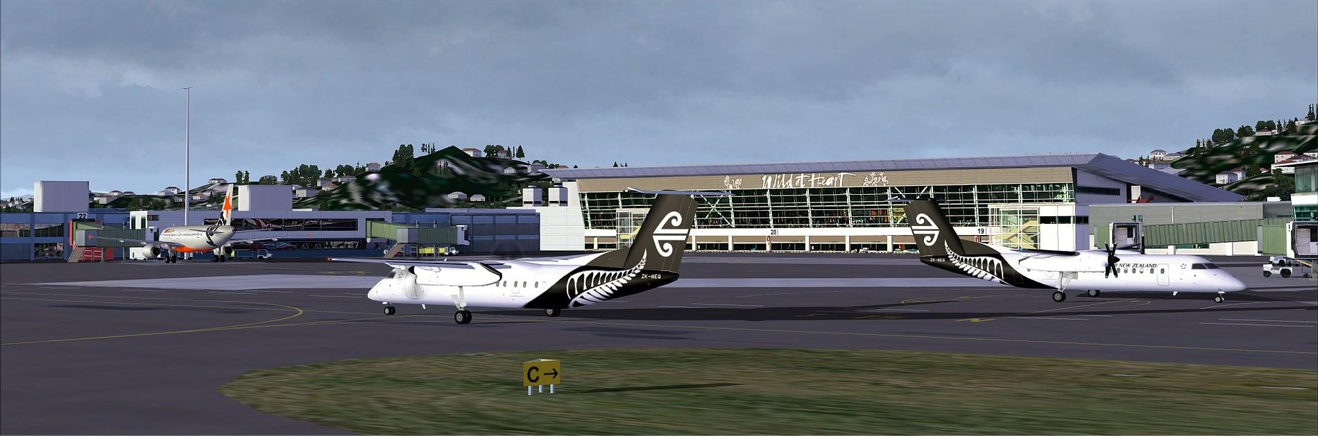 NZFF • Sounds Air Ai Flightplans