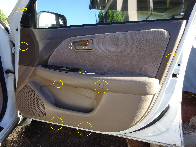 Diy Gen4 Key Code And Door Panel Removal Toyota Nation Forum
