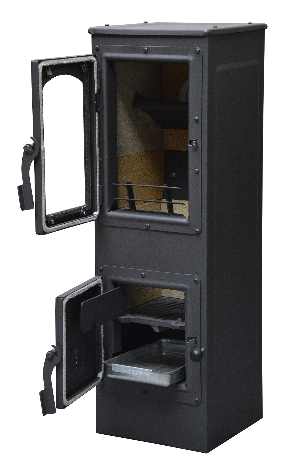 po le a bois 6kw 280x280x890mm warm tech kos ebay. Black Bedroom Furniture Sets. Home Design Ideas