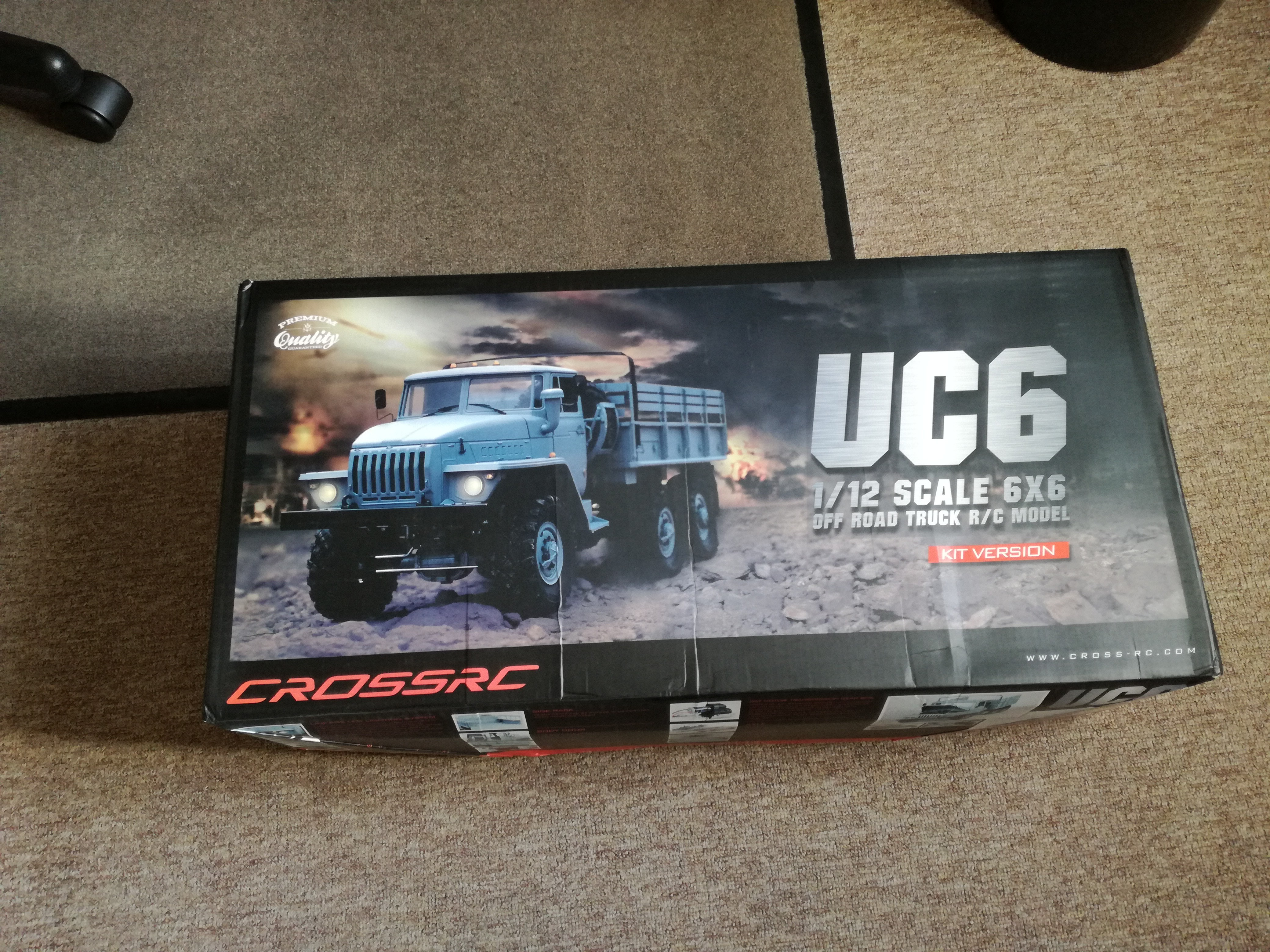 URAL 4320 (Cross-RC UC6) - CAMIONS-RC FR