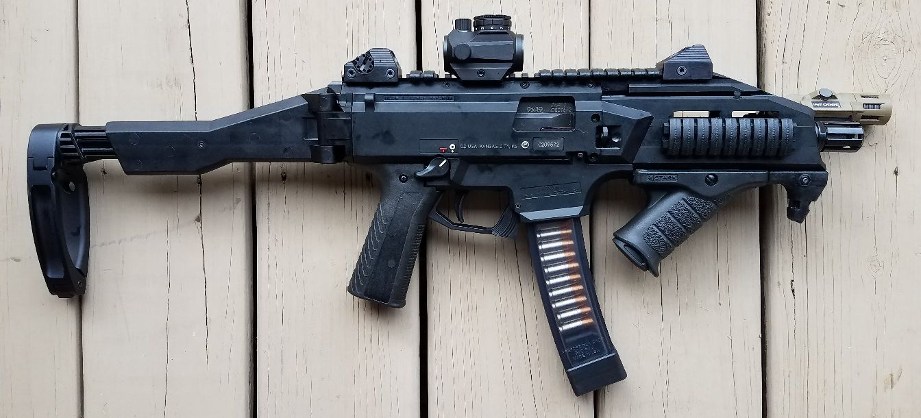 CZ Scorpion with Tailhook Brace - A Flawed Masterpiece