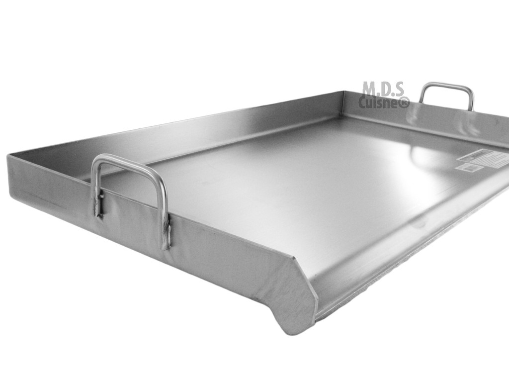 Griddle Grill Stainless Steel Plancha Bbq Heavy Duty Comal