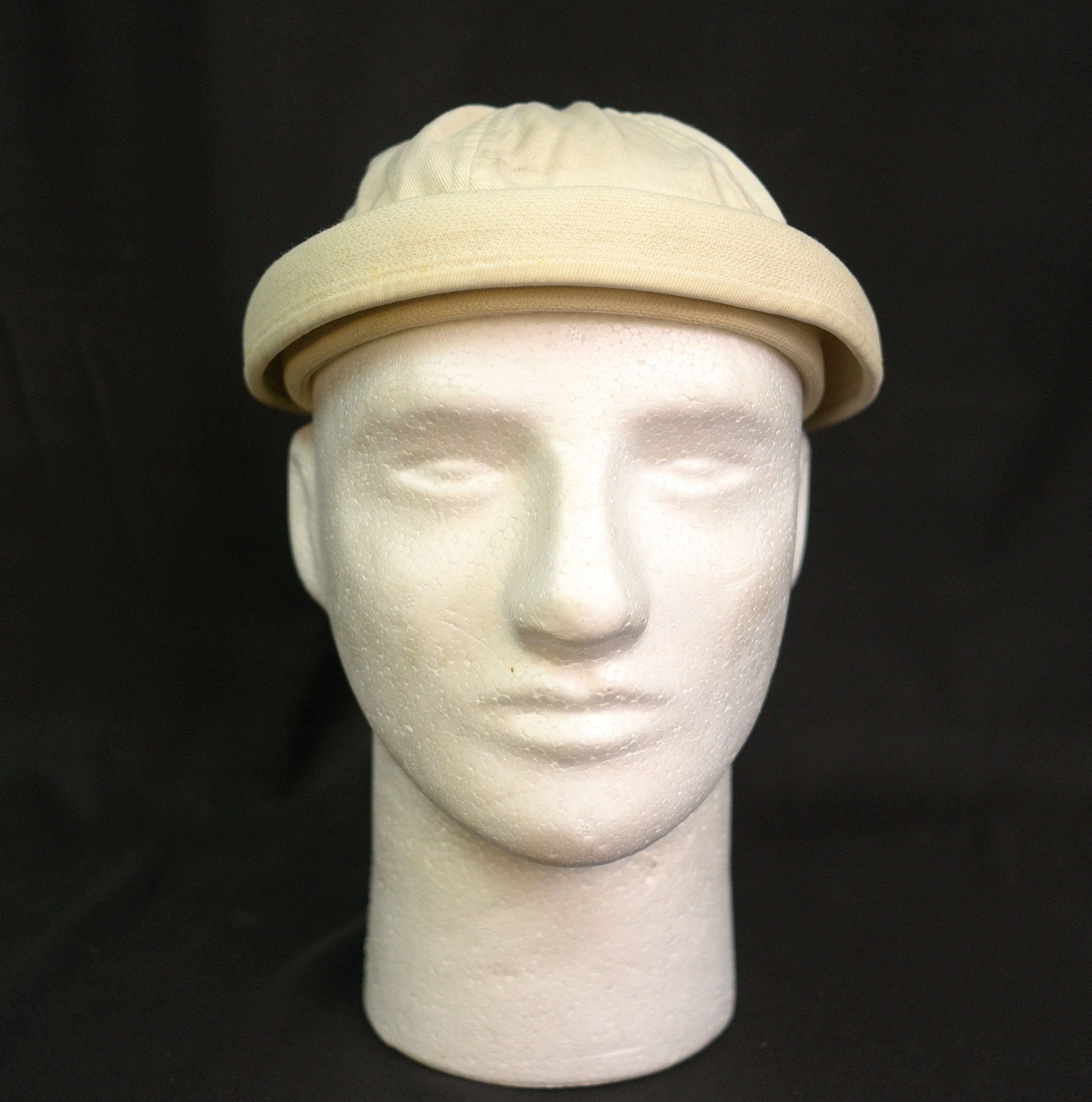 WWII US Navy White Dixie Cup Sailor Hat 1ac2bd76b0e