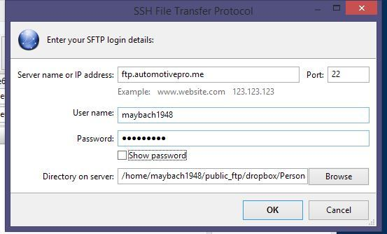 SFTP, Godaddy, Cpanel hosting - FreeFileSync Forum