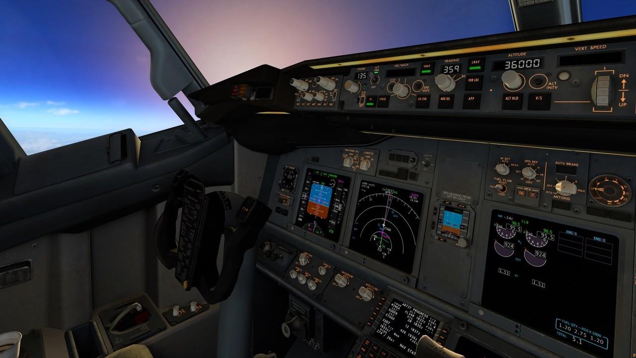 Boeing B738-800 modified (zibo mod)