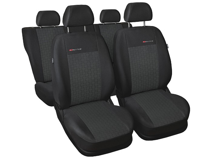 Car seat covers fit Vauxhall Insignia full set black//silver