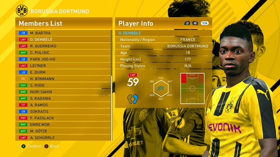PES 2016 Transfer Update For Professional Patch V.4.0