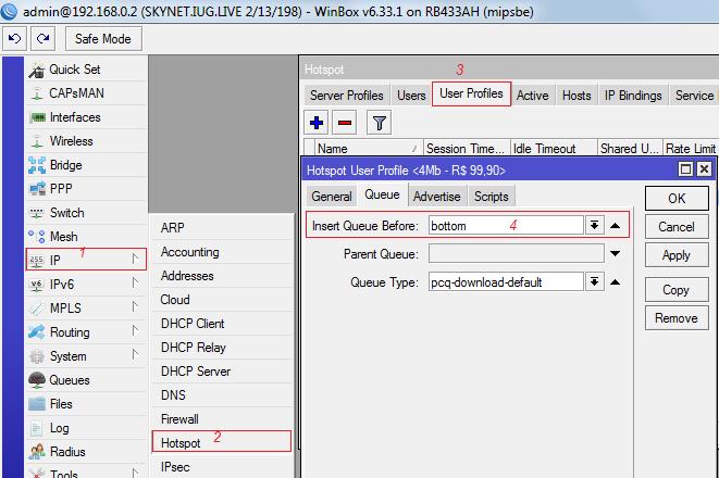 Cache Full na Versão 6X do Mikrotik Router0S
