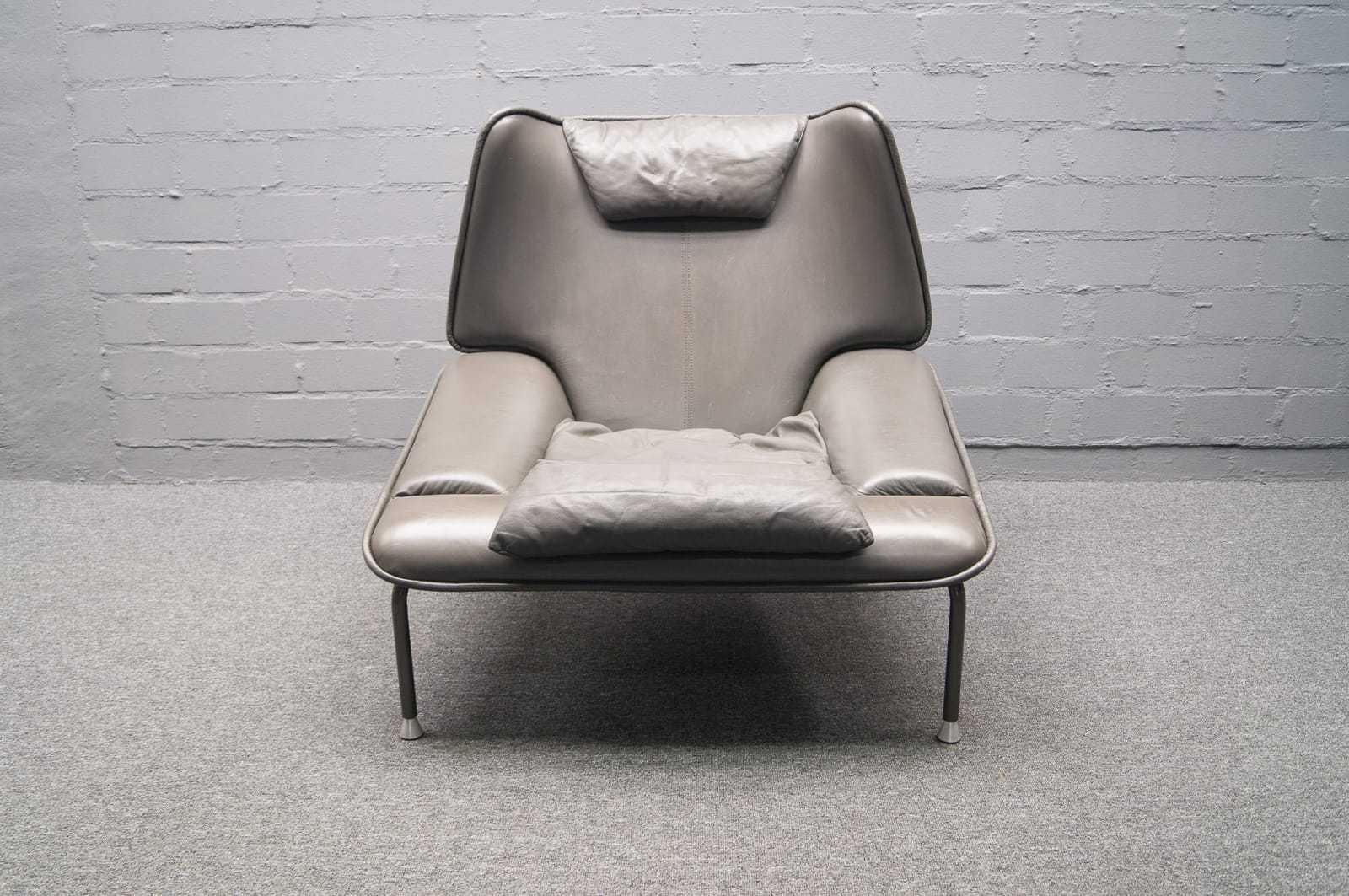 leder verstellbarer ohrenbackensessel mit hocker ottomane highback lounge chair. Black Bedroom Furniture Sets. Home Design Ideas